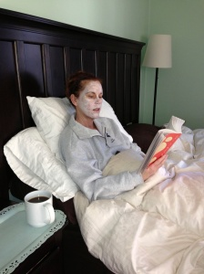 mask in Bed